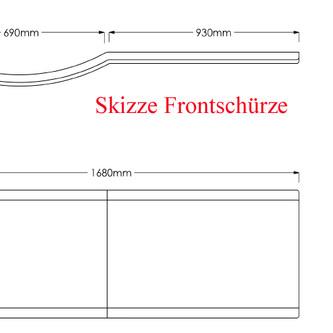 Raumspar Badewanne Skali mit Duschzone 167,5x85/75cm rechts weiß Komplett-Set