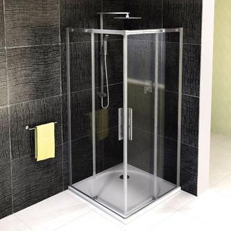 ALTIS LINE Duschabtrennung Quadrat 900x900mm, klarglas