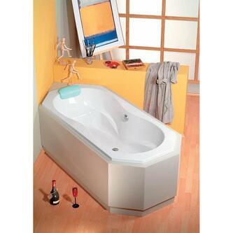 FUGA Acryl-Badewanne 180x80x43cm, weiß