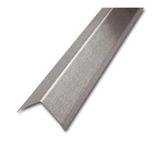 ES Eckschutzprofil, 3-fach gekantet,geschliffen, 200cm , Maß 60x60mm