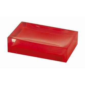 RAINBOW Seifenschale zum Stellen, rot