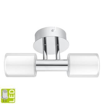 PALERMO Wandbeleuchtung G9-LED,2x 2,5W, 230V, chrom