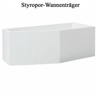 Styroporträger zu Badewanne Tigra R 170x80cm