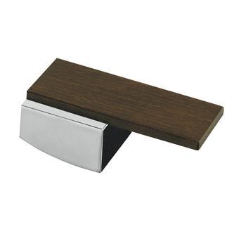 DekorMAX Ersatzhebel, Chrom/ Holz