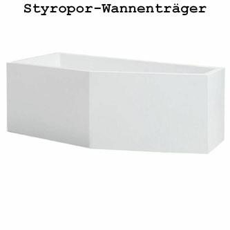 Styroporträger zu Badewanne Projekta L