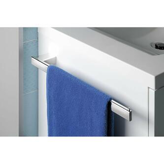 BELLA Handtuchhalter für Unterschränke für linke Seite, Chrom