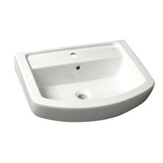BASIC Keramik-Waschtisch 50x45cm, weiß