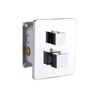 INCASSO UP Thermostat-Dusch-Armatur, 3 Wege,  mit Einbaubox, Chrom