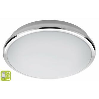 SILVER LED Deckenleuchte 10W, 230V, Durchmesser 28cm, Kaltweiss, Chrom