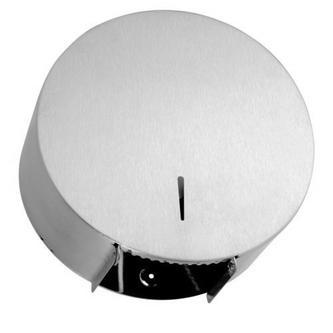 Toilettenpapierspender 310mm, gebürsteter Edelstahl