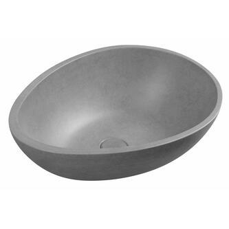 PUNC Betonwaschtisch,53x39 cm, grau