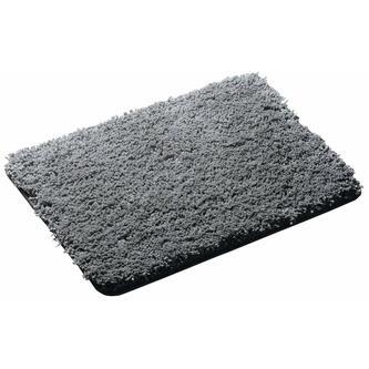 SOFTY Badvorlage 60x90cm Anti-Rutsch, Polyester Mikrofaser, grau